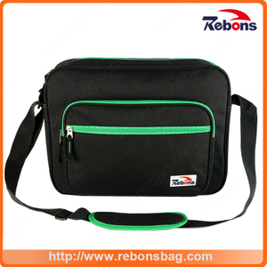 Polyester Laptop Computer Shoulder Bag for Men with Adjustable Strap