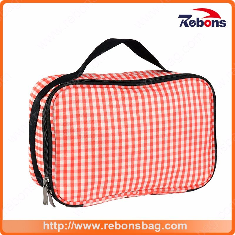 Customized Top Quality Toiletry Hand Cosmetic Bag for Lady