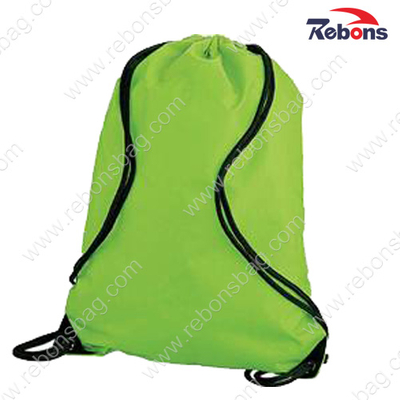Promotional Cheap Nylon Drawstring Backpack Bags for Sports