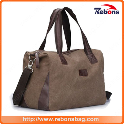 Online Shopping Wholesale New Canvas Sports Bag Foldable Travel Duffel Bag Folding Canvas Travel Bag