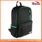 Black Man Solar Outdoor Travel Hiking Backpack with USB Charge Port