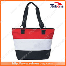 Navy Summer Stylish Canvas Handbags for Vocation