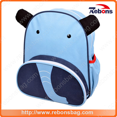 Factory Customized Super Protective High Quality Animal Shool Bag with Elephant Shape