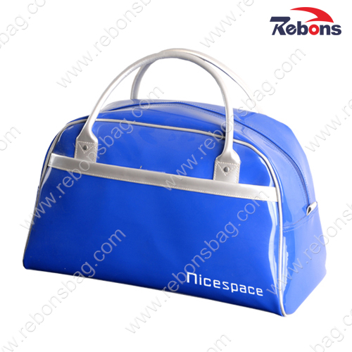 Glossy Shiny Waterproof PVC Travelling Duffle Bag