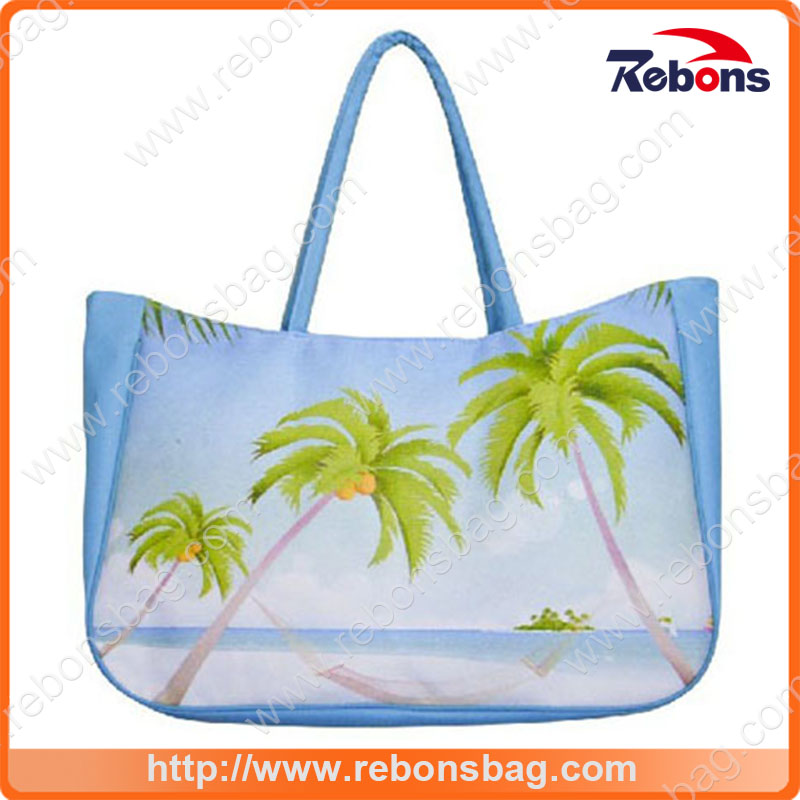 Summer Tropical Oversize Nice Beach Bag for Vacation