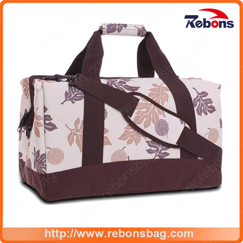 New Arrival Allover Pattern Trendy Fashionable Travel Bag with Customized Picture