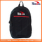 Large Capacity Simplicity Laptop Compartment All Black Backpack