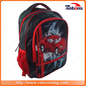 Fasionable Design Car Backpack School Bags for Student