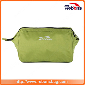 RPET Lady Make up Cosmetic Hand Bag for Travel