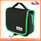 Promotional Polyester Beauty Handle Cosmetic Bag for Travel Outdoor with Two Compartment