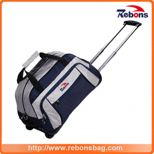Hot Selling Durable Girl Trolley School Bag Leather Laptop Trolley Bags