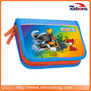 Silk Screen Printing Popular Cartoon Book Bags