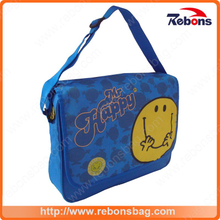 Smile Face Printed Kid Shoulder Messenger Bags