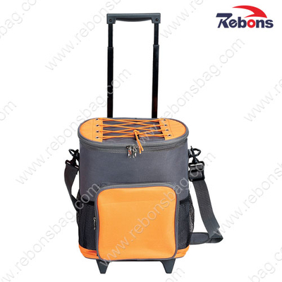 Frozen Foods Trolley Insulated Cooler Rolling Bags with Wheels
