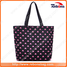 Latest Fashion Girl Handbags with Heart Printing