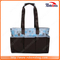 Fashion Patchwork Stripe Mcrofiber Diaper Bags Mummy Baby Bag for Shopping