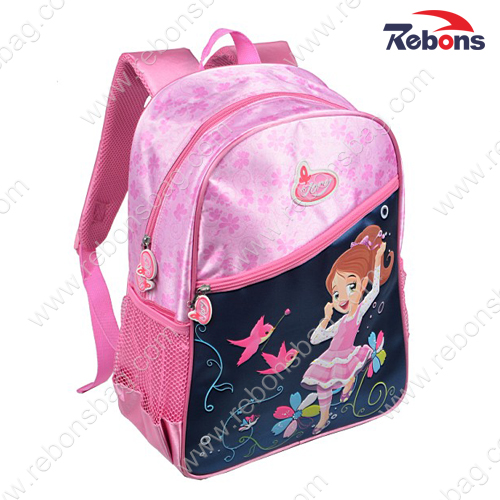 Brand Fashion Cute Cartoon Backpack School Bags for Girls