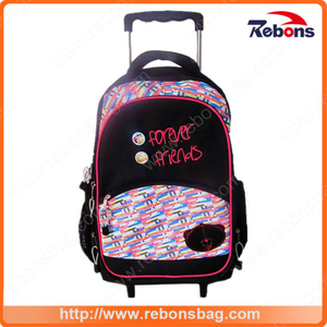 Casual Daypack Allover Printed School Bags for Girls